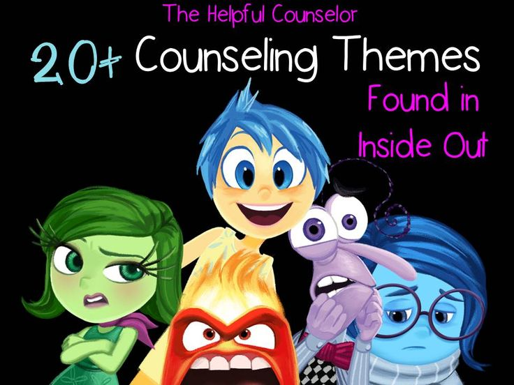 20  Counseling Themes found in Inside Out