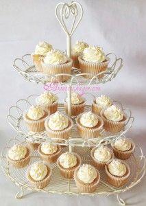 Jordbær cupcakes med Baileys frosting