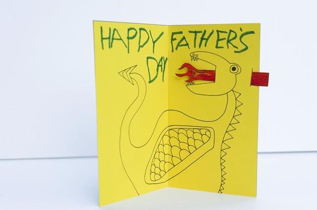 kaart voor vaderdag