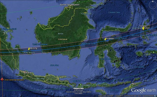 Total Solar Eclipse Tours Indonesia