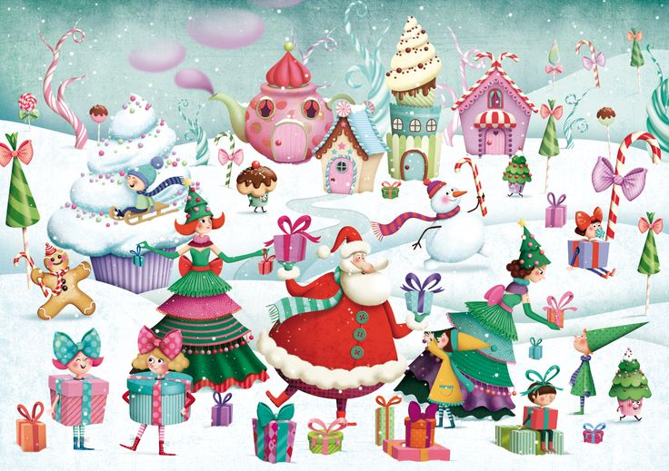 Christmas by Marie Desbons