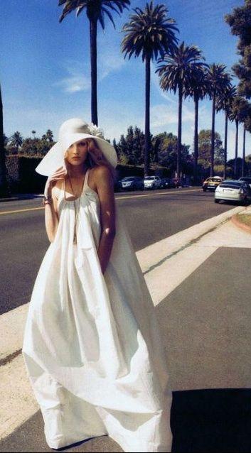 cool drama: Fashion, Style, Harpers Bazaar, Dresses, White Dress, Wedding Dress, Summer