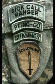 Sick Call Ranger | Military and Veteran LOL | Pinterest ...