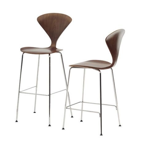 molded plywood stool designed by norman cherner