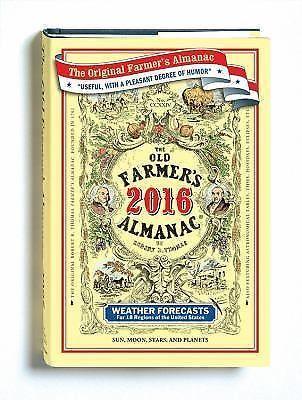 The Old Farmer's Almanac 2016....must buy.