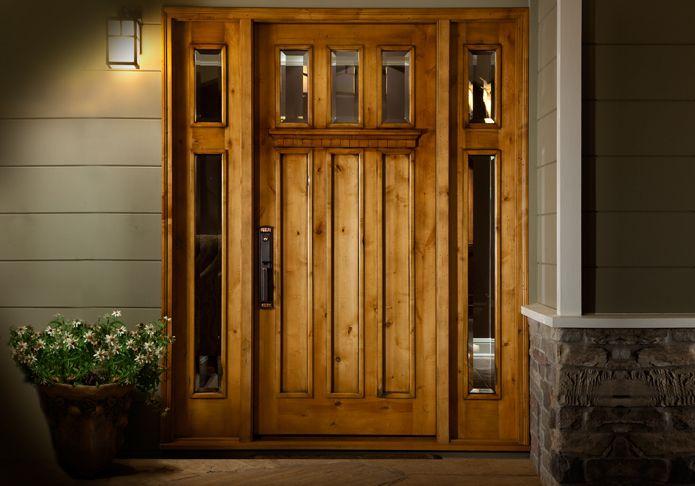 15 best entry doors images on pinterest front entrances Craftsman style wood interior doors