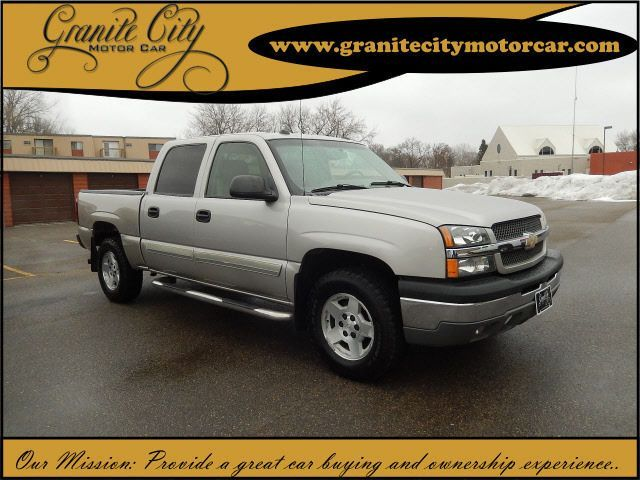2004 chevy silverado 1500 extended cab bed size
