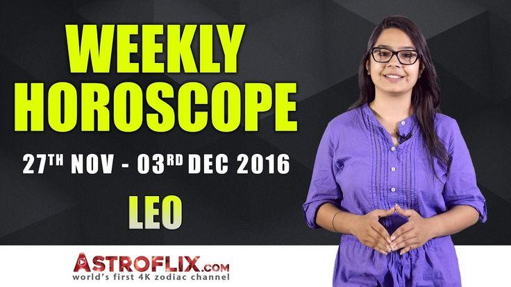 Leo Weekly Horoscope: November 27 to December 03, 2016 – GaneshaSpeaks.com #Leo #Weekly #Horoscope