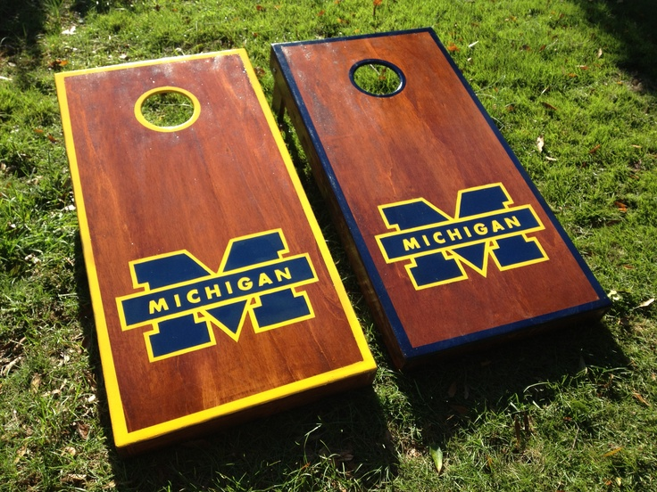 michigan cornhole boards contact for your custom set