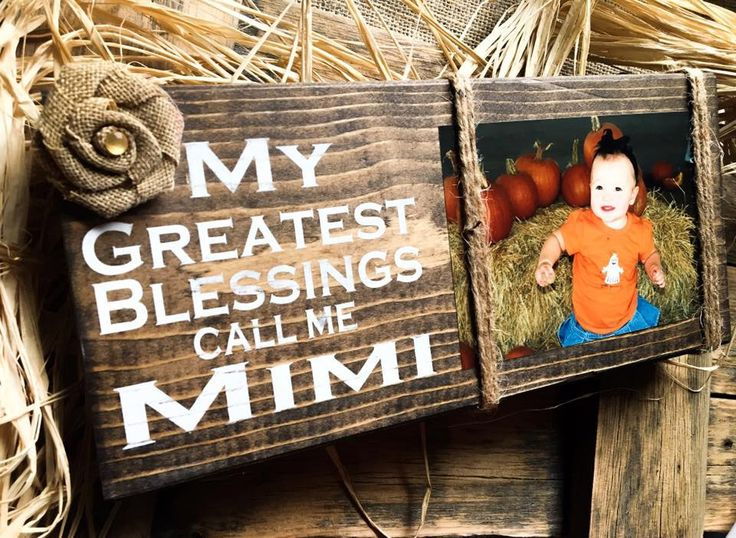 Mimi Picture Frame,Mimi Photo Holder ,Mimi Sign,Mimi Gift,Mimi Picture Frame ,Wood Block,Gigi Nana Mema Meme GG,Greatest Blessings Call Me by DesignsBySyds on Etsy https://www.etsy.com/listing/472065854/mimi-picture-framemimi-photo-holder-mimi