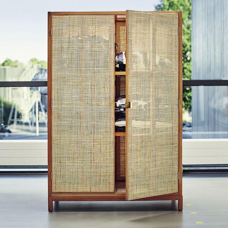 <p>Dans la collection Stockholm, on retrouve cette armoire qui mixe bambou et jacinthe d'eau. Idéale pour une chambre ethnique chic !</p>