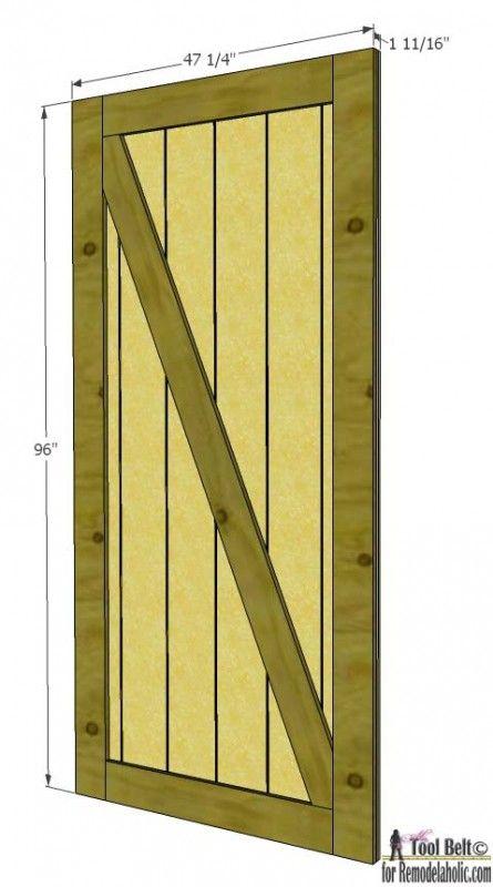 Door Construction Plans & Wood Shed Door Plans Sc 1 St Dame