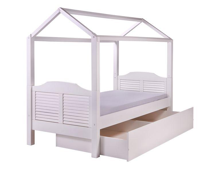 A cama Casinha ou cama com telhadinho G é linda para o quarto infantil. <3 #crofths #camacasinha #cama infantil #quartoinfantil #primeiracama