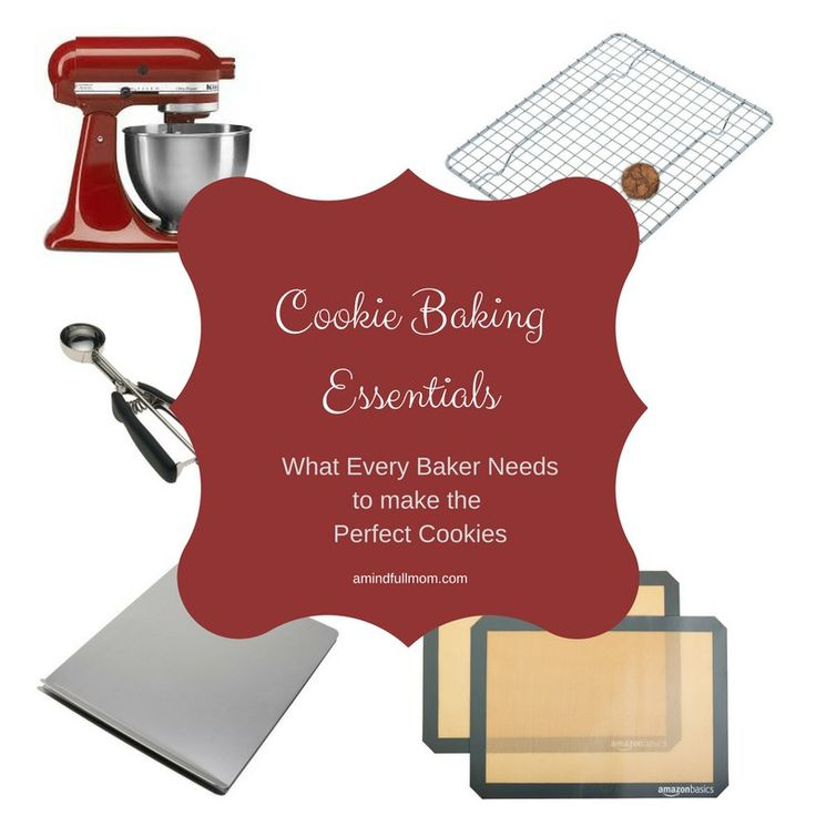 Cookie Baking Essentials: Everything you need to make the best cookies. Perfect for holiday baking or everyday baking needs.