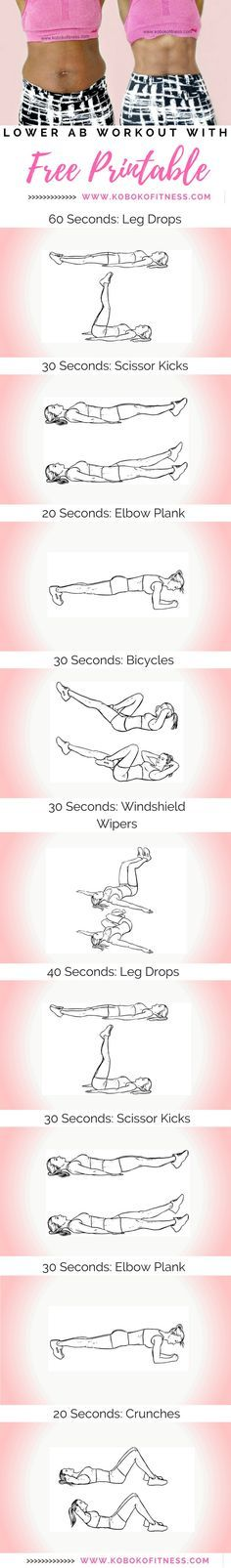 You discovered the best lower ab workout to get rid of a belly pooch and have nicer abs. No equipment needed and only 10 minutes to your best abs ever