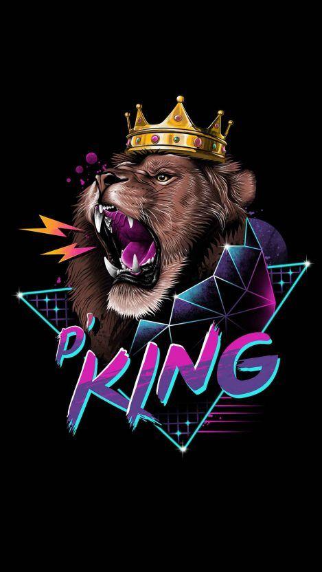 Lion King Crown iPhone Wallpaper Lion king art, Lion art