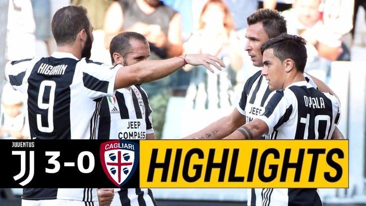VIDEO: Juventus 3-0 Cagliari