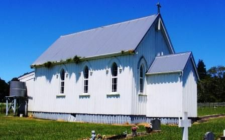 Okaihau Catholic Church   New Zealand