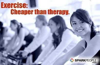 Exercise: Cheaper than therapy