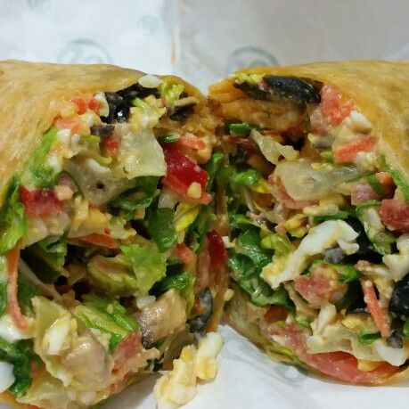 Eat healthy. Make you own wrap.