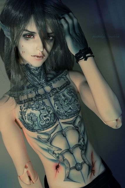 17 Best images about bjd tattoos on Pinterest | Posts ...