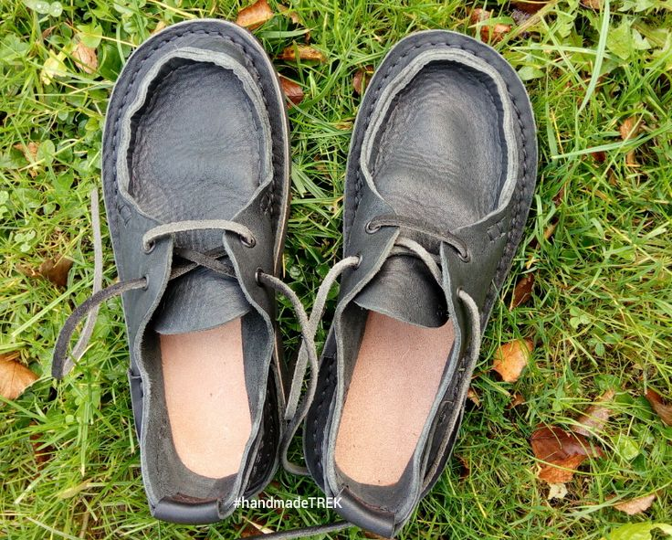 Handmade natural leather Moccasins from TREK