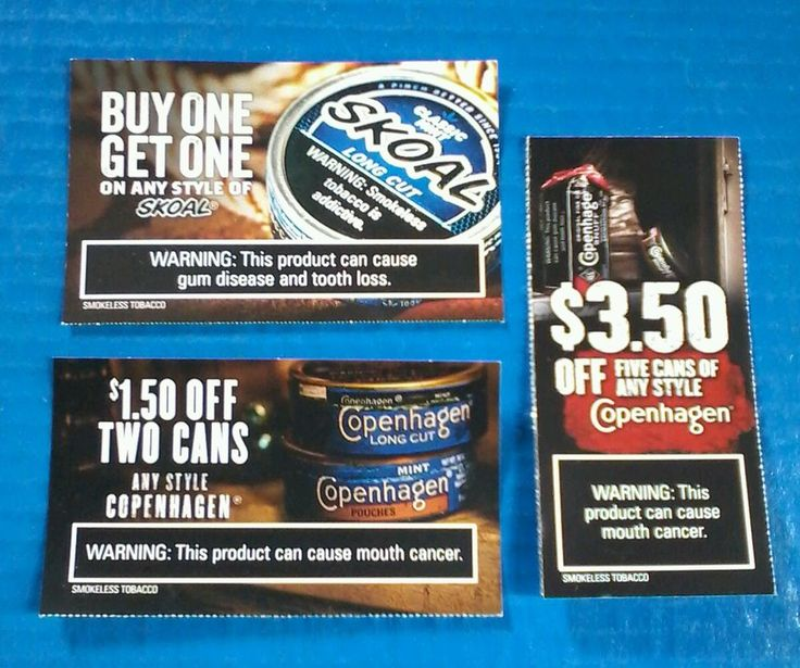 Copenhagen snuff coupons