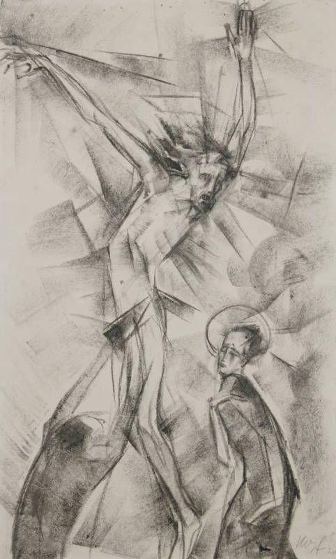 Ukřižování, 1920