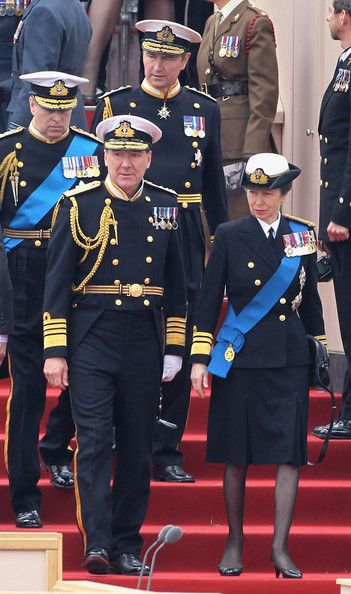 Timothy Laurence Photos: Queen Elizabeth II Attends The Armed Forces Parade And Muster