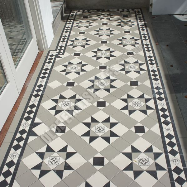 Olde English Tiles Australia - Paddington continuous with Norwood border