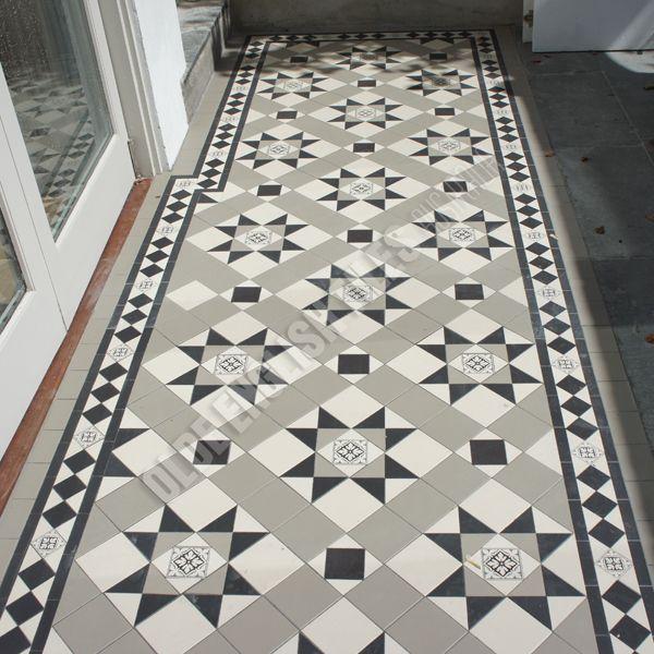 Olde English Tiles Australia Paddington Continuous With Norwood Border
