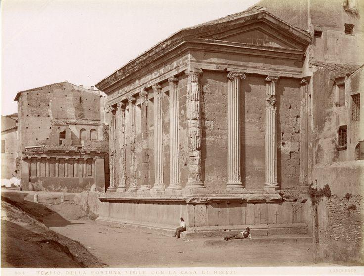 Tempio della Fortuna Virile   Année : Circa 1875