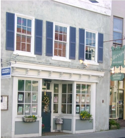 """John Cross Tavern, 812 Bay Street, Beaufort SC. On the historic registry. """"Low Country Tables"""" Virtuoso Life 5/6 2006.John Cross Tavern has been legendary in Beaufort as the hangout for Blackbeard and the other pirates who came noising through the town. According to A Guide to Historic Beaufort by the Historic Beaufort Foundation, however, """"perhaps no site in Beaufort illustrates the frustration caused by the scarcity of pre-Civil War records,"""" which were lost to accident and neglect."""""""