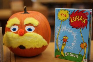 Pumpkins for Halloween - book characters - The Lorax