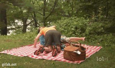 Piqueniques invadem parques no fim de semana