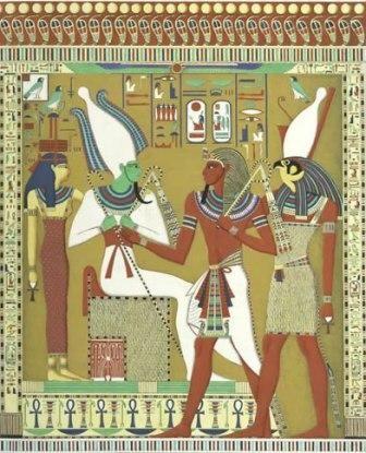 Isis, Osiris, Horus