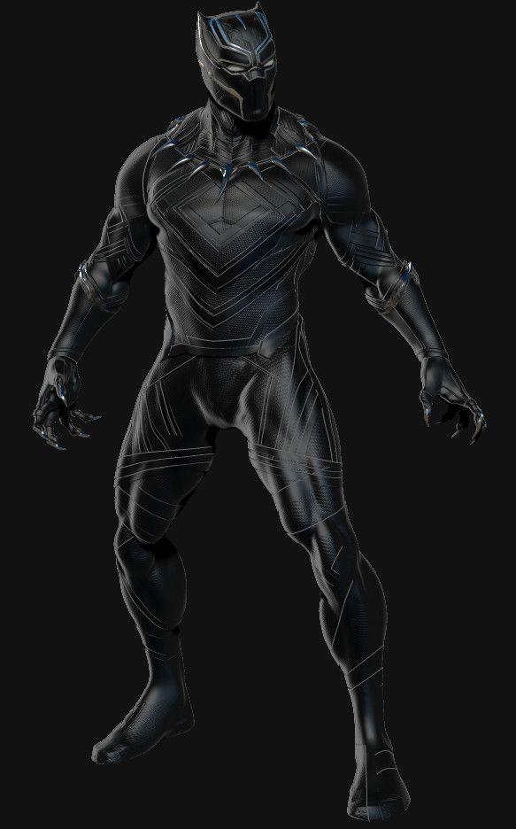 https://www.facebook.com/MarsMars3d I sculpture and Render in Zbrush. Black Panther