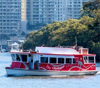 Today I loved... Taking the City hopper in Brisbane