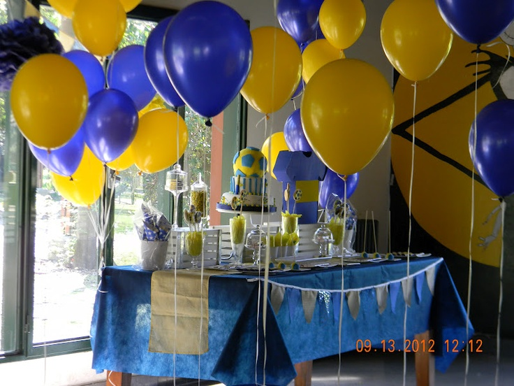 Decoraci n con globos boca fiesta de cumplea os boca - Decoracion fiestas cumpleanos ...