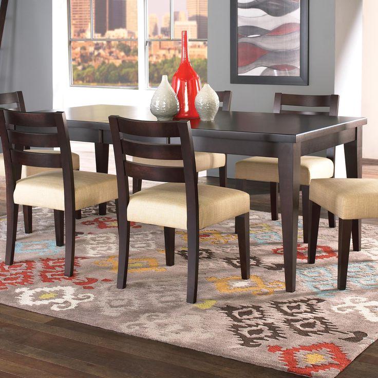 Shop For The Canadel Custom Dining Customizable Rectangular Table Set At Sprintz Furniture