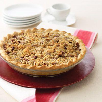 Pear & Raspberry Streusel Pie.