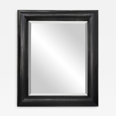 Exceptional Black Cobra Mirror by Karl Springer by Karl  Springer
