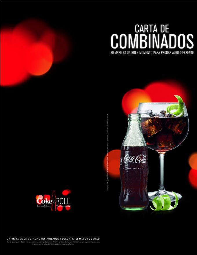 Creatucarta con Coca-Cola