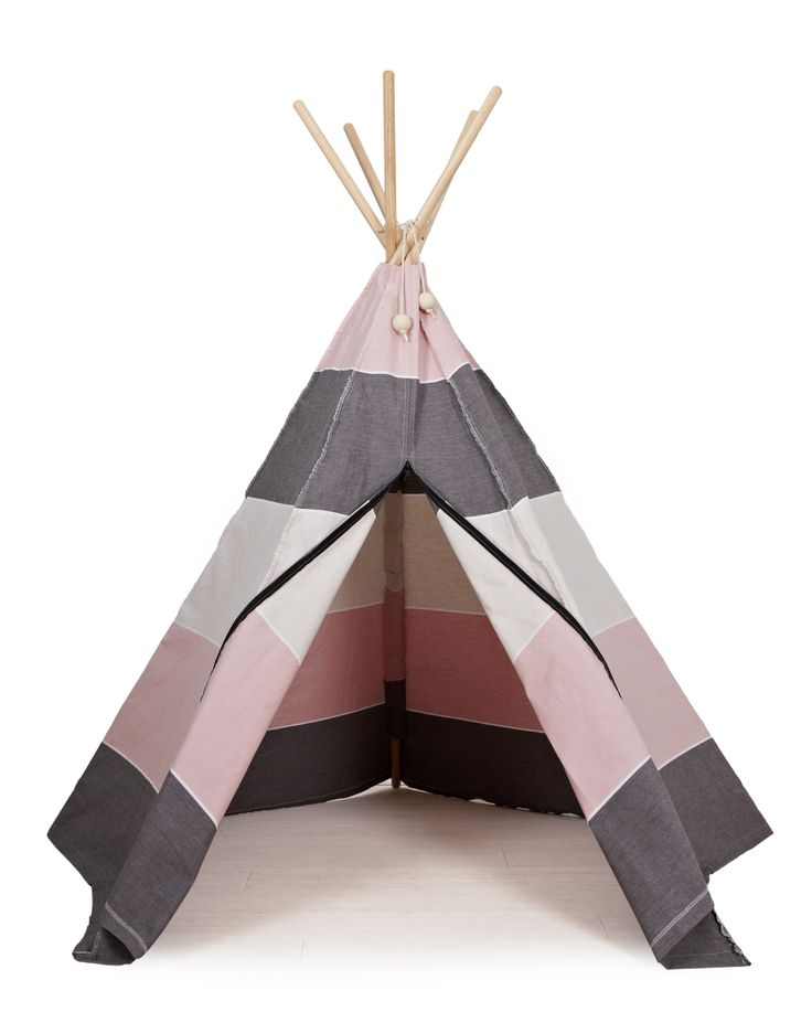 Hippie Tipi play tent by roommate. www.roommate.dk #roommatedk #playtent #teepee