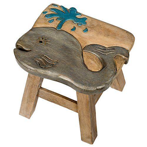 This stool is designed and handmade individually by skilled artisans. It is made of the highest quality acacia hardwood so it will last for years to come. It is hand carved and painted. It weighs 7 lbs and measures approximately 18 x 16 x 16 inches. Lifetime.Hosting Gold Addon Bundle Now that... more details available at https://furniture.bestselleroutlets.com/children-furniture/chairs-seats/stools/product-review-for-whale-design-hand-carved-acacia-hardwood-decorative-short-s