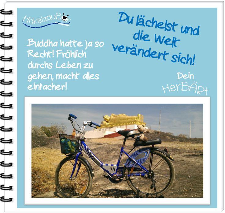 Fahrradtour Teil 2 und eine tolle buddhistische Weisheit für euch! Wenn das kein schöner Start in die Woche ist, weiß ich auch nicht. Wenn ihr mehr über mich erfahren wollt, schaut mal unter www.topp-kreativ.de.