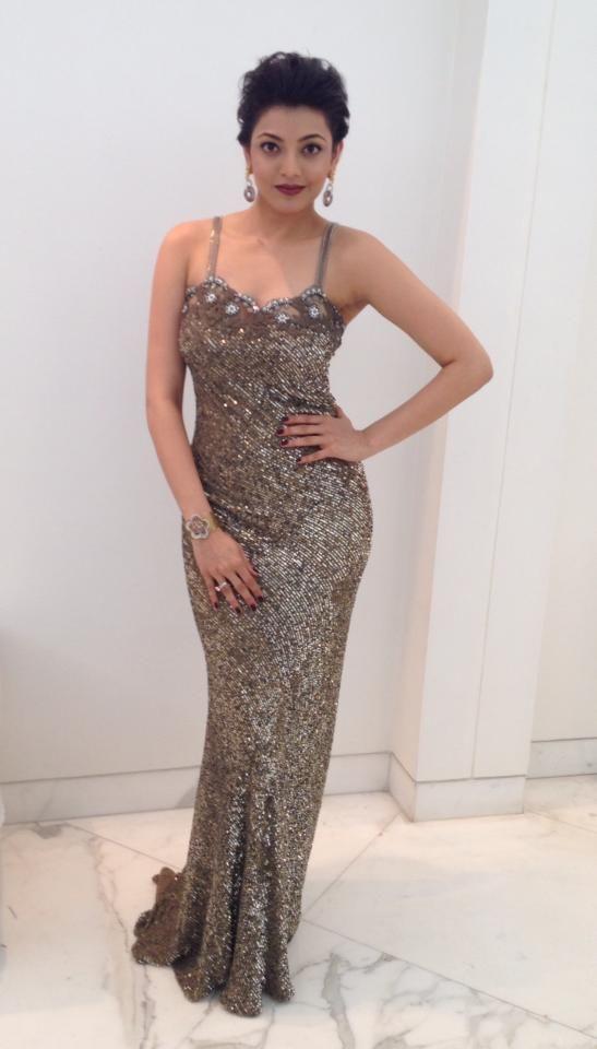 Kajal Aggarwal at Filmfare Awards 2014