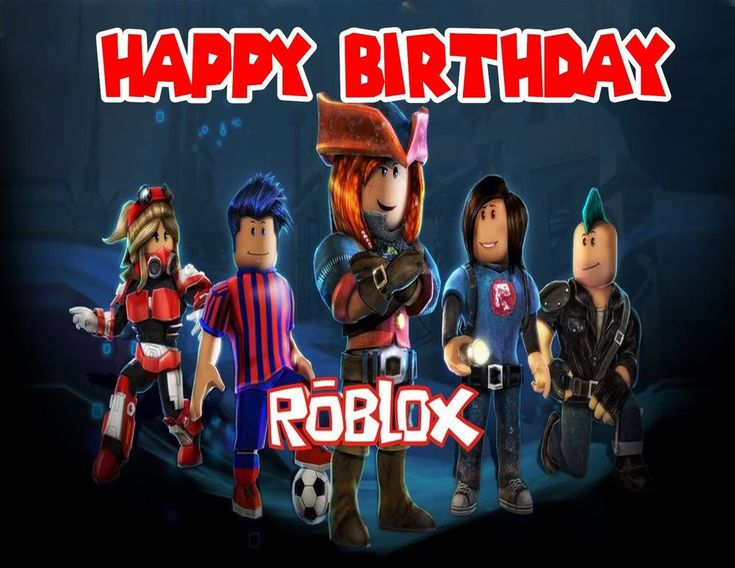 Roblox Personalized Edible Print Premium Cake Topper Frosting Sheets 5 Sizes #Inkedibles #Party