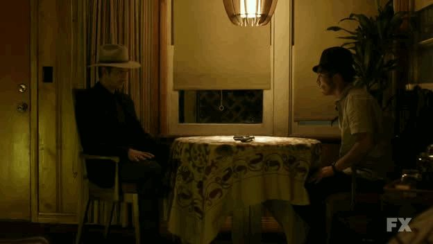 Justified is back and it's got swagger. Here's a gif to prove it!