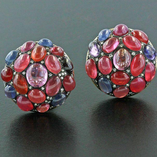 Spinel earclips #jamesdegivenchy #jamestaffindegivenchy #taffin #taffinjewelry